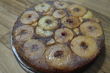 μηλόπιτα ανάποδη
