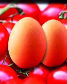 ντομάτες και αβγά καγιανάς