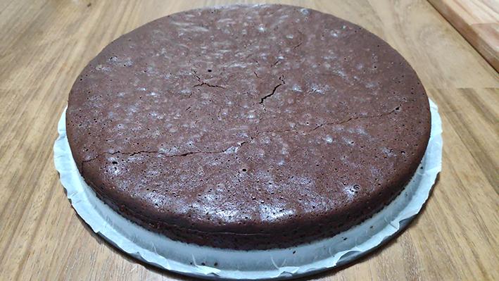 φοντάν-brownies